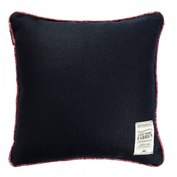 ANTHRACITE Linen Cushion
