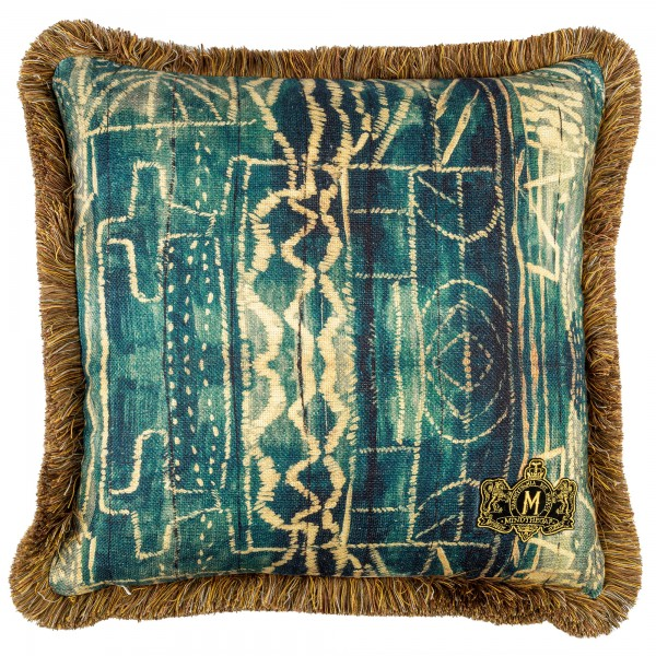 BAMILEKE Linen Cushion