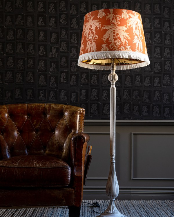 GUINEO Orange ARTIZAN Floor Lamp