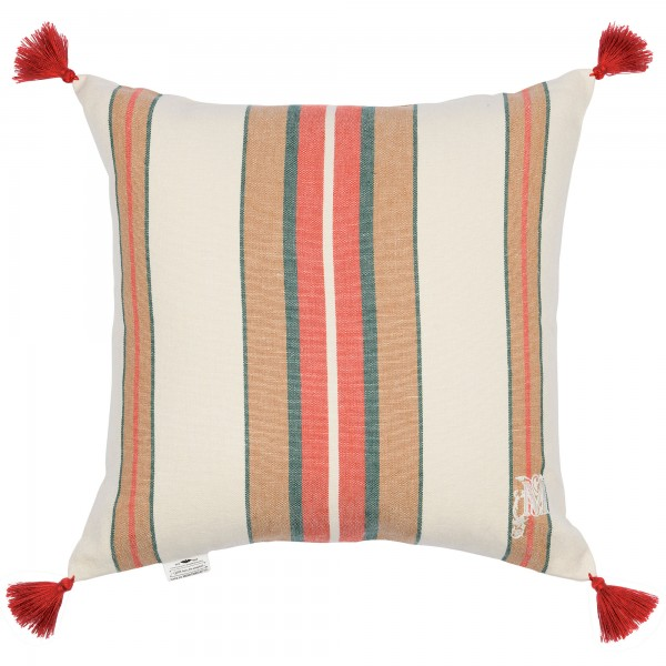 HERINA Stripe Heavy Linen Cushion