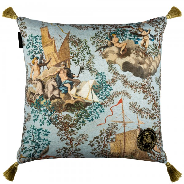 JOURNEY TO EDEN Linen Cushion