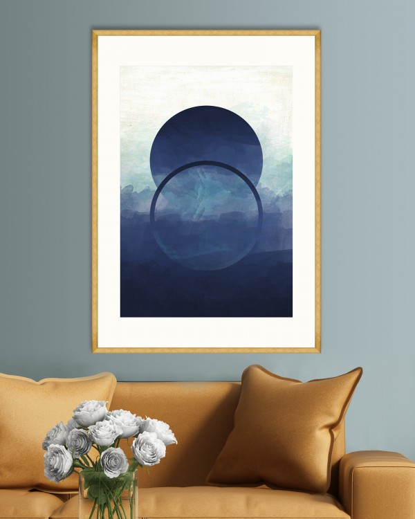 OMBRE I Framed Art