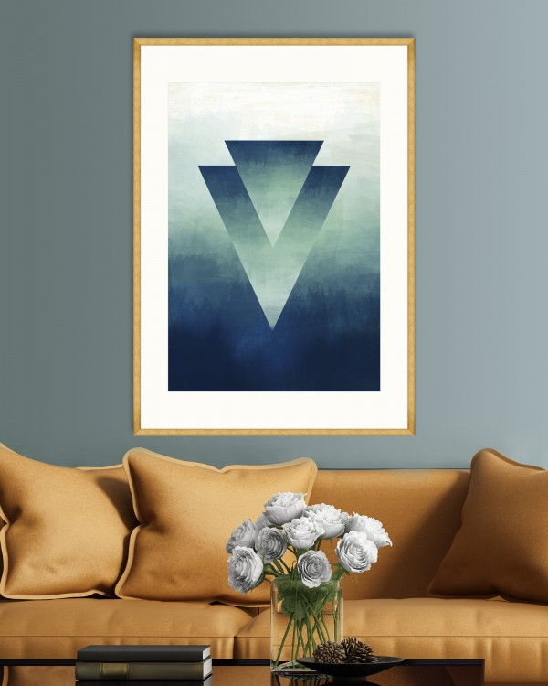 OMBRE II Framed Art