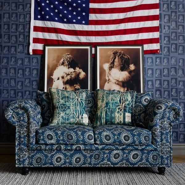 WINSTON Tufted Sofa - AJRAK Linen