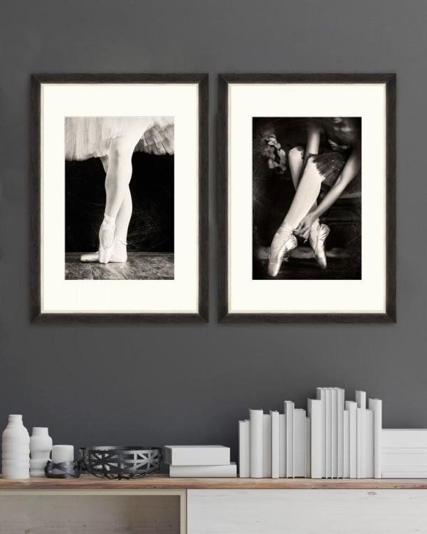 BALLERINAS Set of 2 Framed art