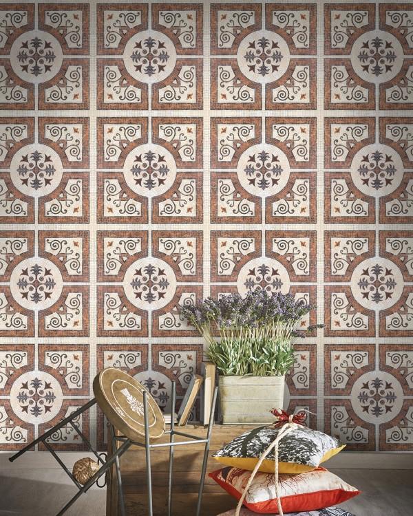 BYZANTINE TILE Premium Wallpaper
