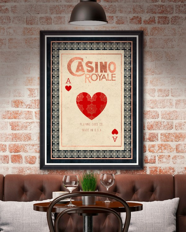 CASINO ROYALE Framed Art