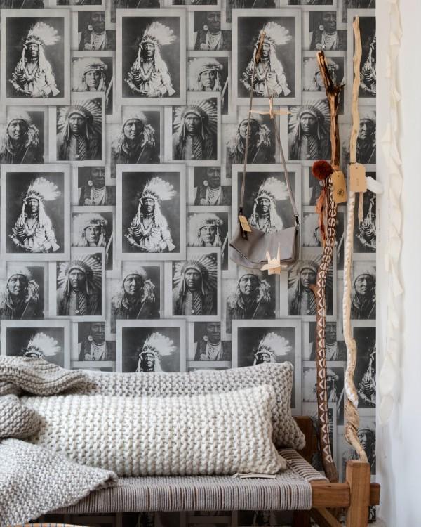 INDIAN CHIEFS Premium Wallpaper