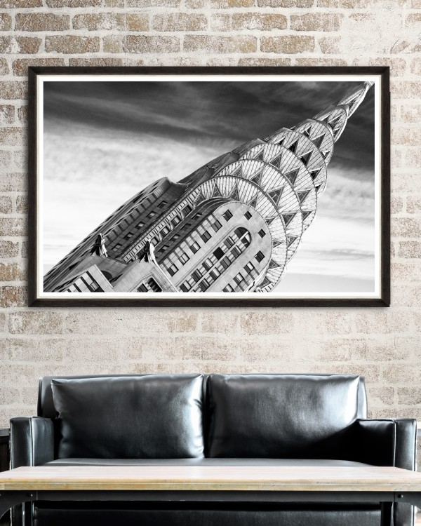 CHRYSLER BUILDING DETAILS Framed Art