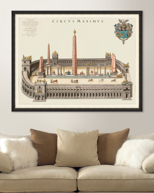 CIRCUS MAXIMUS Framed Art