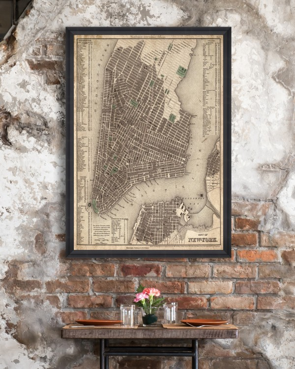 CITY OF NEW YORK Framed Art