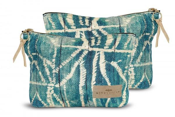 BAMILEKE Linen Wash Bag