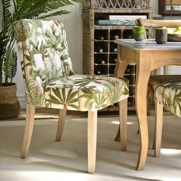 DUKE Tufted Chair - MADAGASCAR Linen