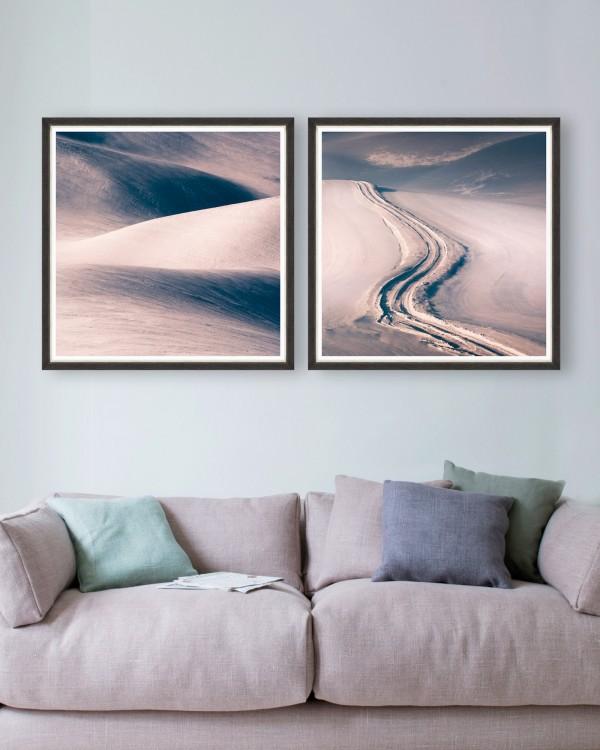 DUNES Set of 2 Framed art