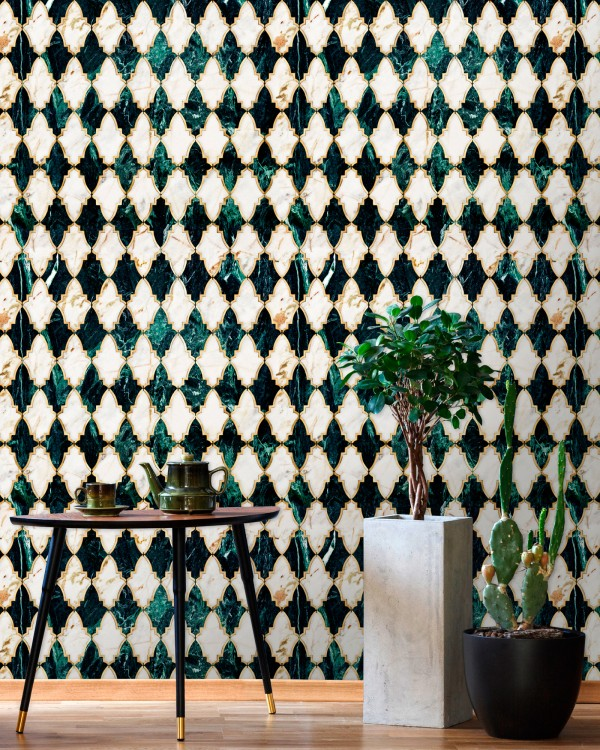 EMPIRE Emerald Metallic edition Wallpaper