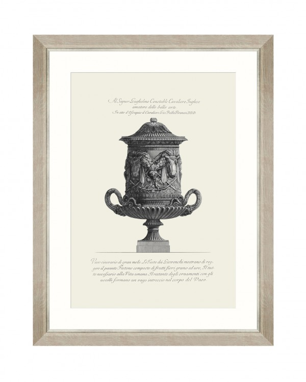 ANTIQUE URN II Framed Art