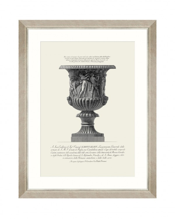 ANTIQUE URN V Framed Art