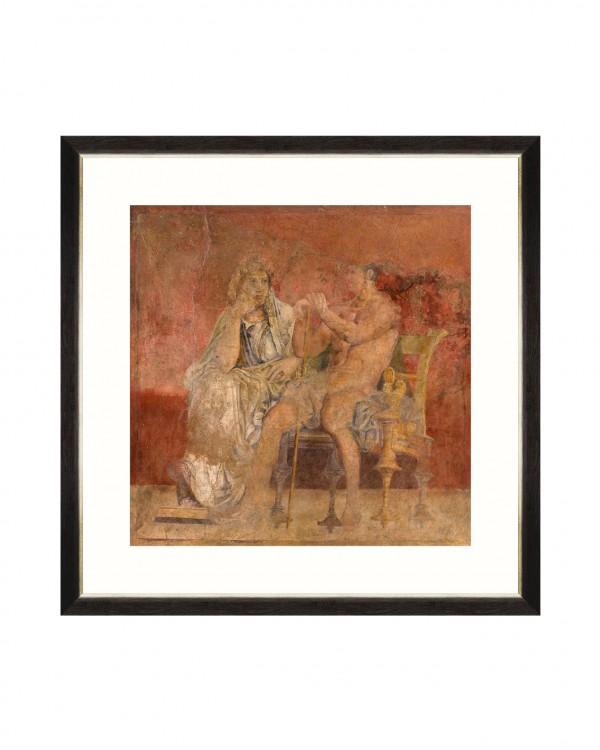 POMPEII WALL FRESCO II Framed Art