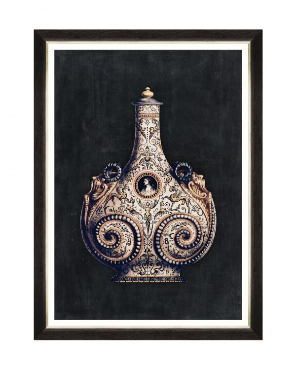 ARABIAN VASES III Framed Art