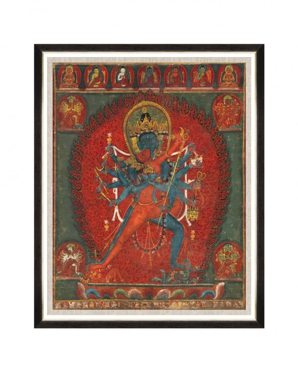 INDIAN GODDESS Framed Art