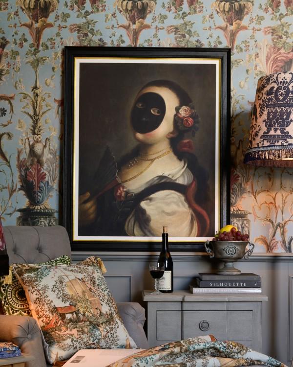 LA MORETTA BY FELICE BOSCARATTI Framed Art