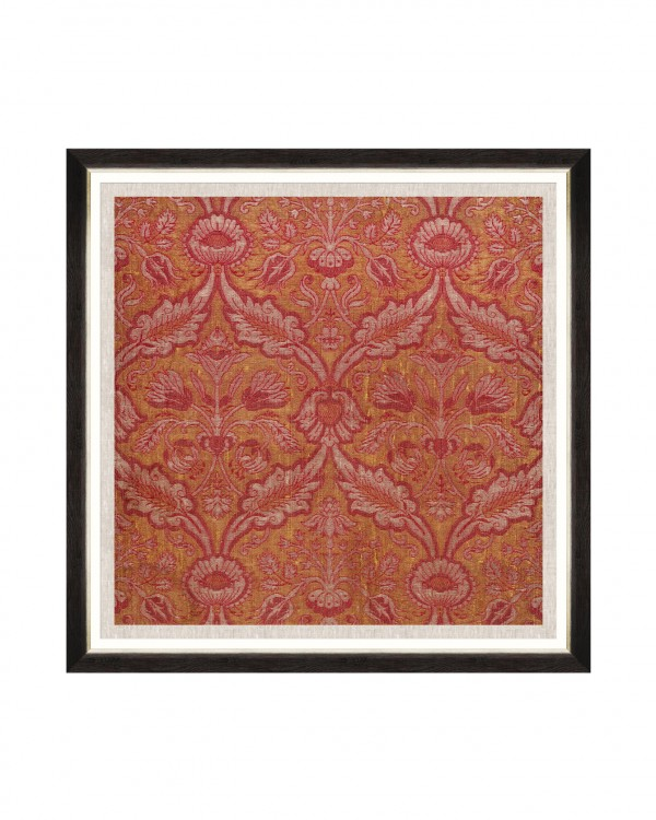 ANCIENT BROCADE Framed Art