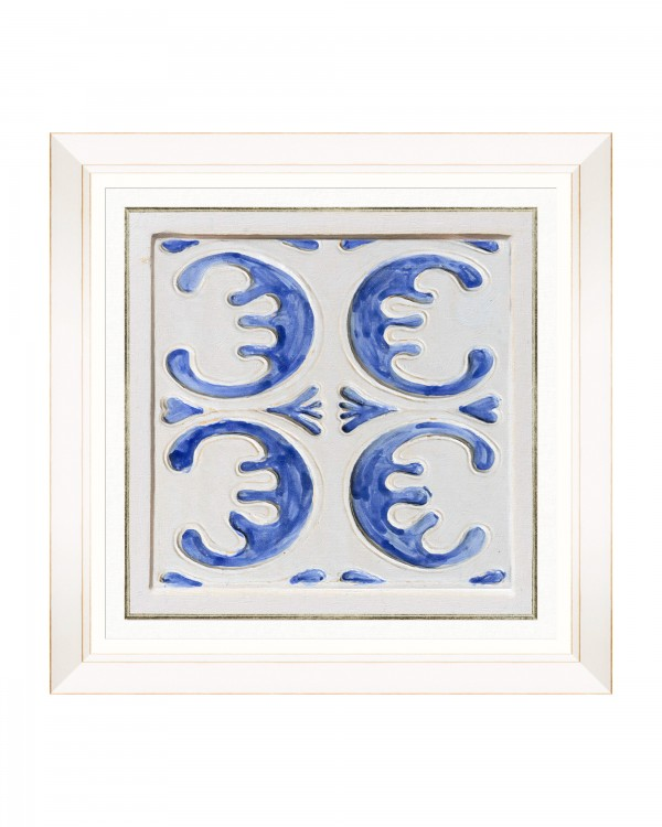 FOLK TILES III Framed Art
