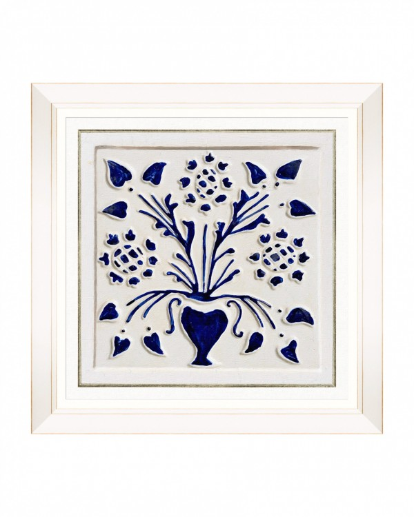 FOLK TILES VI Framed Art