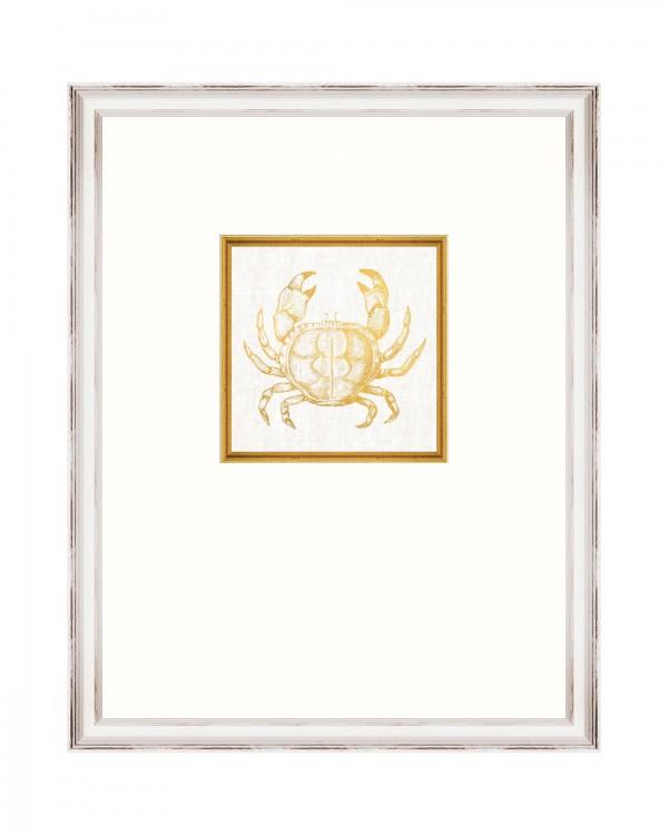 CRAB Framed Linen