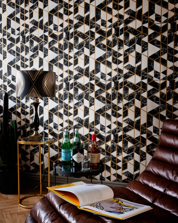GRAMERCY Onyx Metallic edition Wallpaper