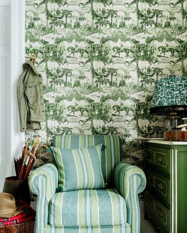 GRAND PRIX Green Wallpaper