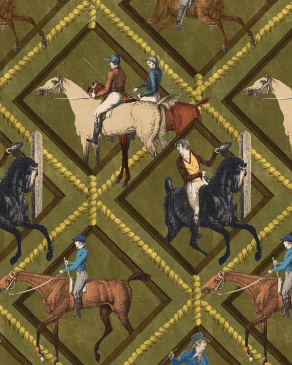 GYMKHANA Khaki Wallpaper