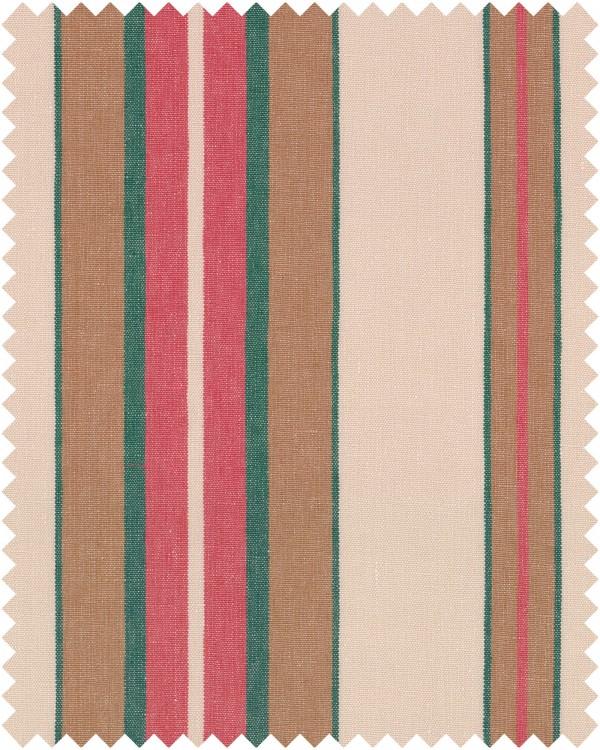 HERINA STRIPE Heavy Linen Sample