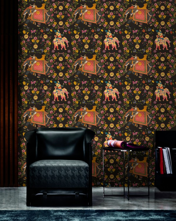 ARTISTOCRACY Anthracite Wallpaper
