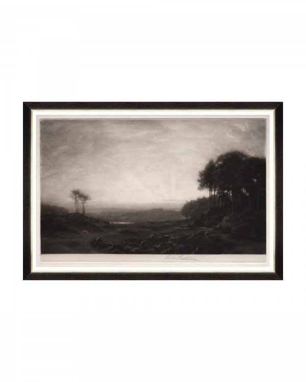 LANDSCAPE BY GEORGE GASKELL Framed Art