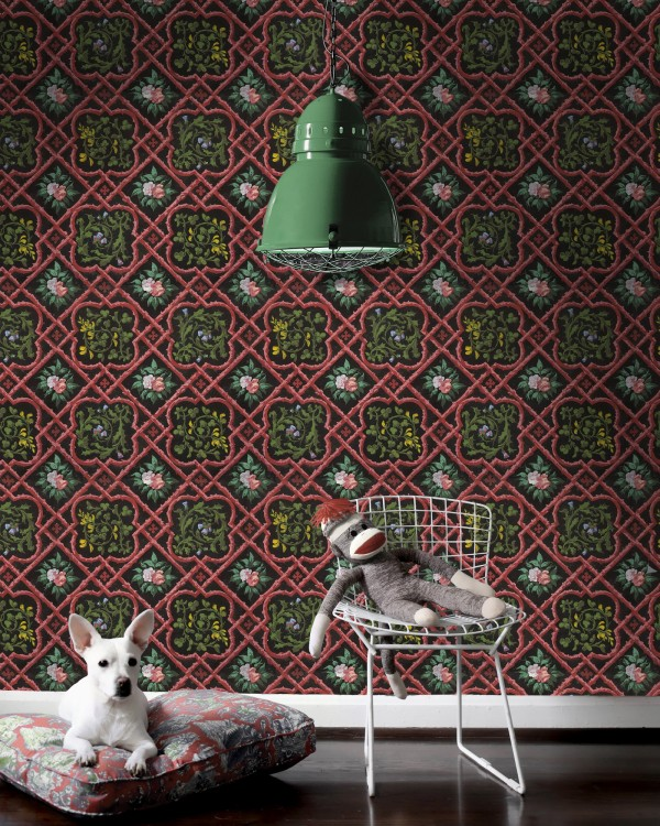 LATTICEWORK Premium Wallpaper