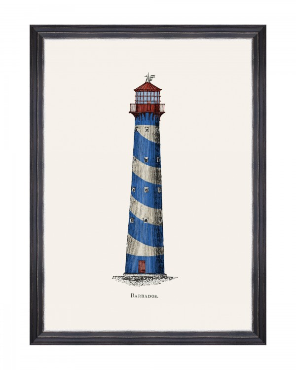 LIGHTHOUSE DRAWINGS III Framed Art