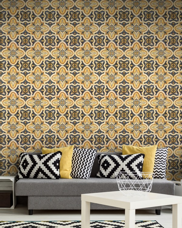 MAGHREB TILE Premium Wallpaper
