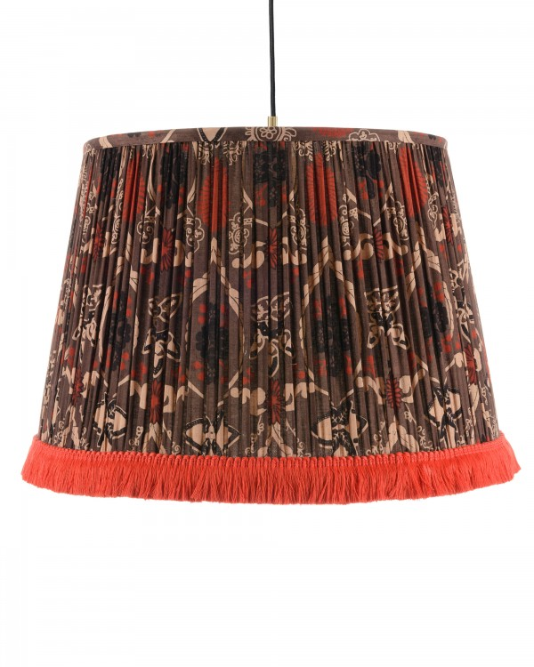 MALMKROG Pleated Pendant Lamp