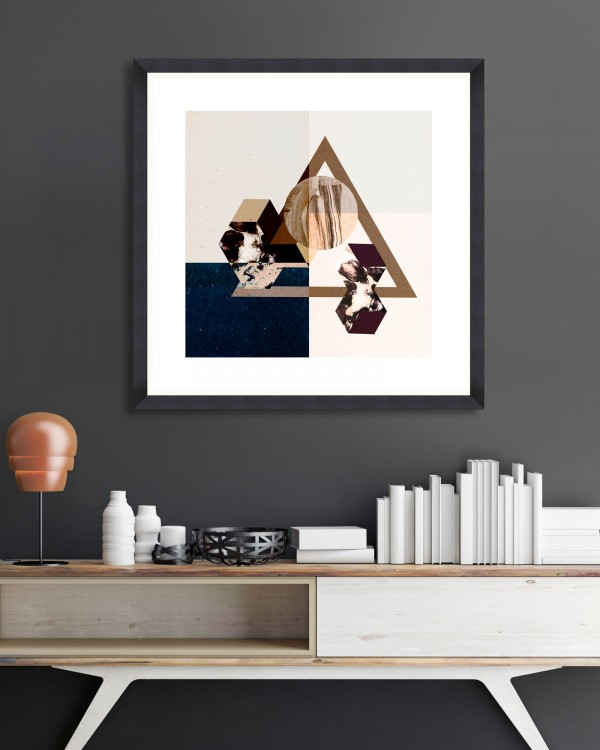 MINIMAL GEOMETRY Framed Art