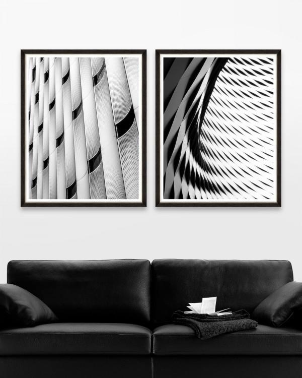 MODERN ARCHITECTURE Set of 2 Framed art