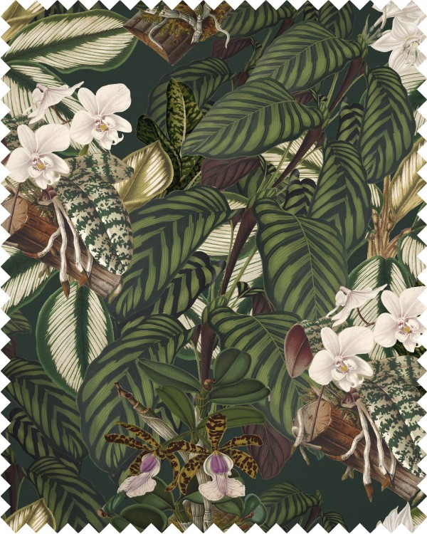 ORCHID BLOOM Linen Sample