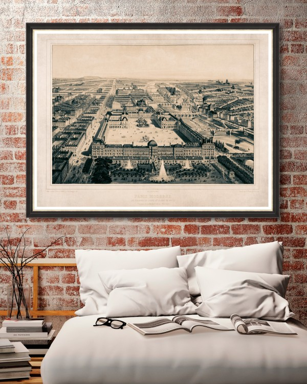 PARIS MODERNE Framed Art