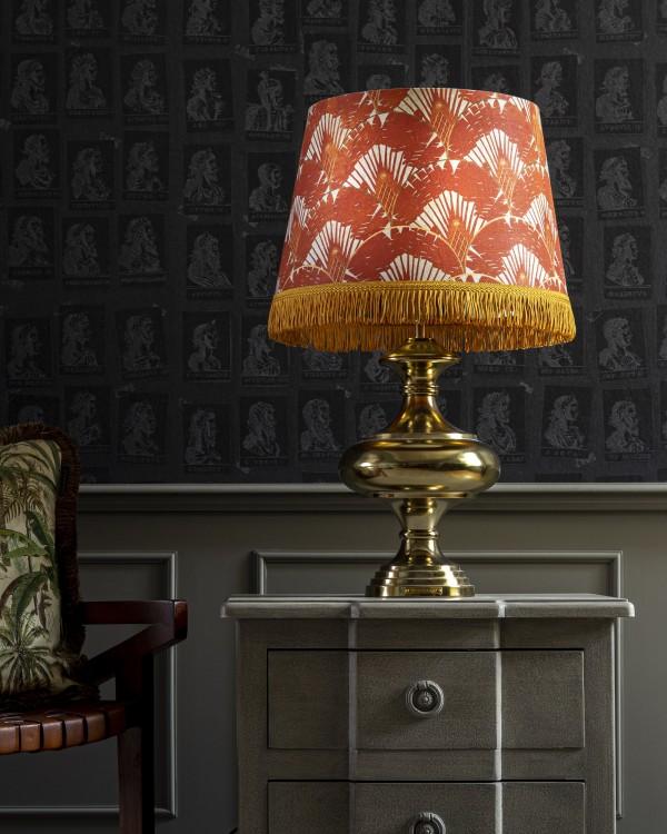 RAVENALA Orange KALASH Table Lamp