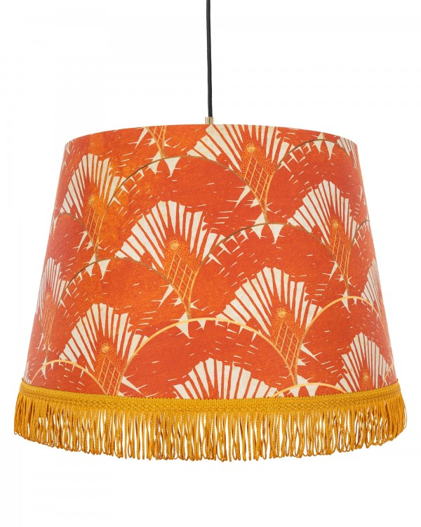 RAVENALA Orange Pendant Lamp