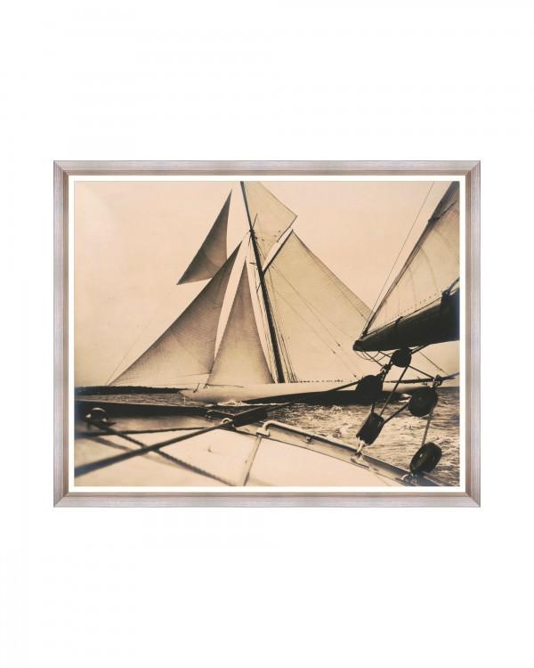 RELIANCE Yacht 1903 Framed Art