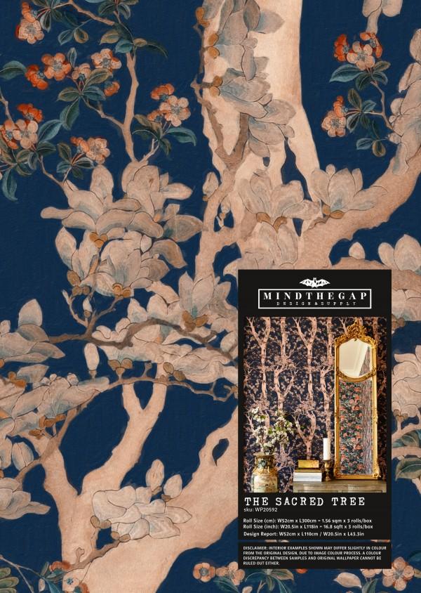 THE SACRED TREE Wallpaper Sample