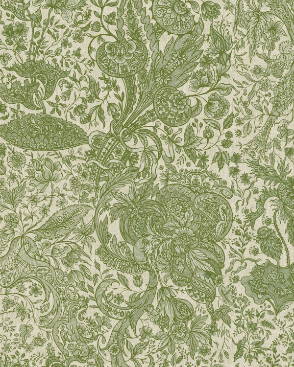 SARKOZI EMBROIDERY Herbal Wallpaper