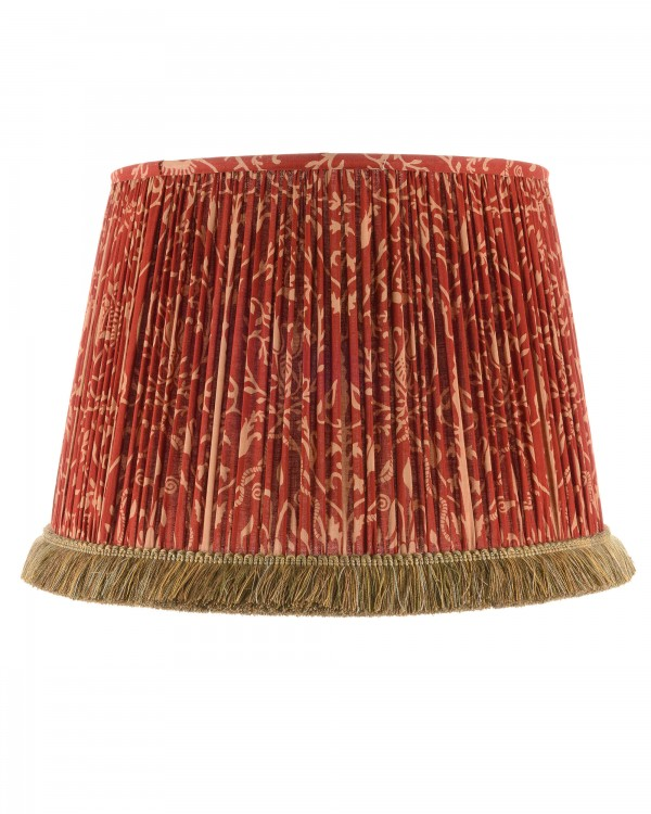 SAXON ORNAMENT Pleated Lampshade