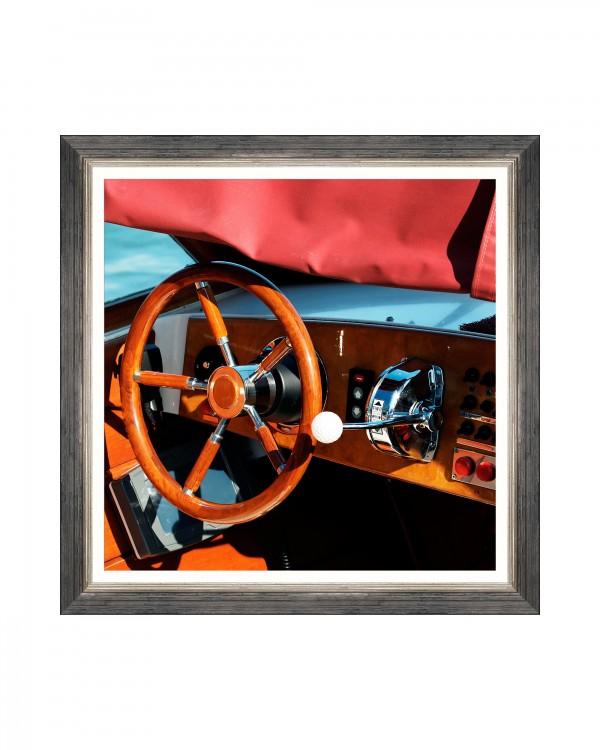 SPEED BOAT II Framed Art